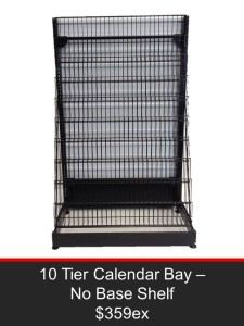 10 Tier Calendar Bay