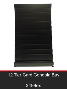 12 Tier Card Gondola Bay