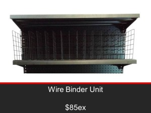 Wire Binder Unit