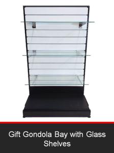 Gift Gondola Bay with Glass Shelves